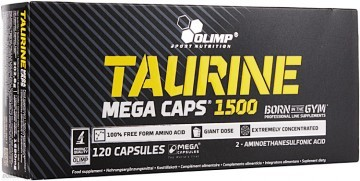 Olimp Taurine Mega Caps 1500mg 120kap